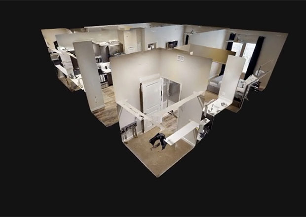 3D Floorplan and Dollhouse