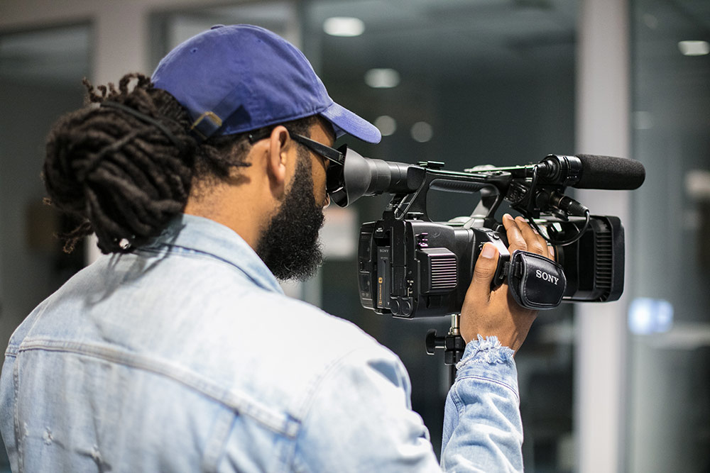 Video Production - Cutting-edge video equipment
